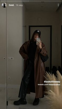 Cute Night Lights, Winter Outfits, Fashion Beauty, Raincoat, Duster Coat, Street Style, Style Inspiration, Fashion Outfits, Photo And Video