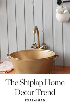 Once and for all, we're explaining what shiplap really is and how to incorporate it into your home. — via @PureWow