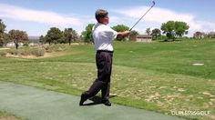 Golf Instruction Video - Front Hip Rotation & Ball Position