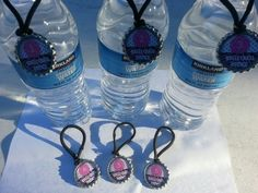 Volleyball Water Bottle name tags, pick you sports, personalize theme with team names, players names and numbers on them