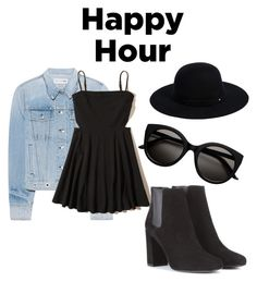 """""""Happy Hour!!!!!"""" by deadlysmiles ❤ liked on Polyvore featuring rag & bone, Siggi, Hollister Co. and Yves Saint Laurent"""