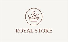 royal-store-Jarek-Kowalczyk-studio-fuerte-luxury-boutique-crown-logo-design-branding-identity-graphics-navy-blue