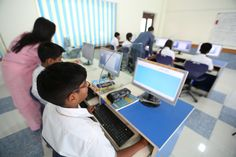 Computer Lab For Tula's Students.Personal Computer teacher become assign for one student.with High processor computers.