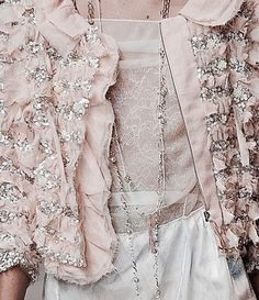 Lace & ruffles,pink.quenalbertini: Pink & white detail, Not Ordinary Fashion