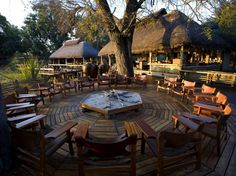 """The location of this two-part camp near bush, plains, and wetlands means """"the game viewing is spectacular""""—expect to see lions, leopards, zebras, and more on the game drives—and """"the scenery is pristine nature all around."""" Overall score: 94.9 See full rating information for Mombo and Little Mombo Camps, Moremi"""