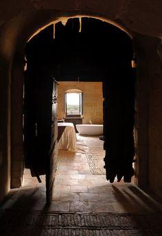Le Grotte della Civita, #Matera, 2009 #bathroom #caves by daniele kihigren & Margareta Isabel Berg #spa