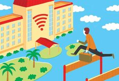 Free Hotel Wi-Fi Is Increasingly on Travelers' Must-Have List - For years, free Internet access has been a standard perk at limited-service hotels more likely to offer a vending machine than 24-hour room service. But at their high-end flagship brands, hotel companies have watched a growing parade of laptops, smartphones & tablets chip away at the revenue they earned from in-room telephones & entertainment. These days, travelers accustomed to free Wi-Fi nearly everywhere, including…