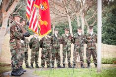 Eno River Young Marines at 2013 Wreaths Across America Service