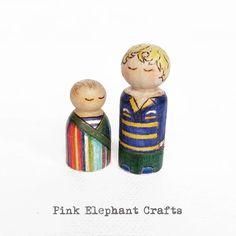 Bespoke Peg Doll Portraits (@dolidwt) • Instagram photos and videos Elephant Crafts, Little Brothers, Baby Boom, Oh My Love, Pink Elephant, Happy Monday, Bespoke, Joy, Dolls