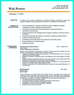 resume examples and samples construction management sample superintendent pictures pin