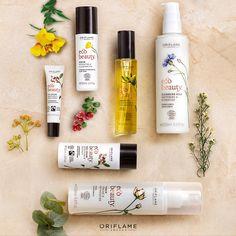 ¡Experimenta el poder de la naturaleza en tu piel! Los ingredientes de #EcoBeauty son 100% orgánicos Oriflame Beauty Products, Oriflame Business, Cleansing Milk, Eco Beauty, Skin Toner, Natural Oils, Health And Beauty, Packaging Design, Cleanse