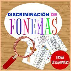 Discriminación de fonemas.