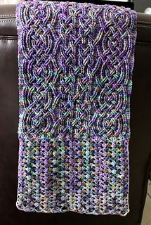 Ravelry: Stonehaven Cable Shawl pattern by Noelle Stiles