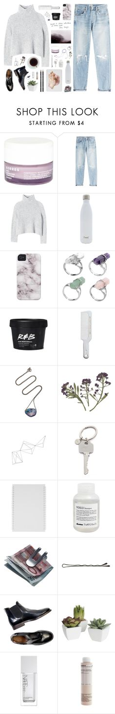 """""""{469}"""" by oliviarose-i ❤ liked on Polyvore featuring Korres, Citizens of Humanity, Rebecca Taylor, S'well, Andis, Jayson Home, Paul Smith, Davines, Georg Jensen and Pier 1 Imports"""