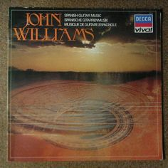John Williams - Spanish Guitar Music, Spanische Gitarrenmusik. Vinyl LP