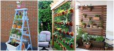 15 przepięknych wertykalnych ogrodów do małego ogrodu
