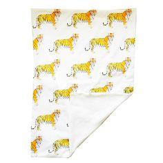 Tiger Blanket by Rebecca Kiff.