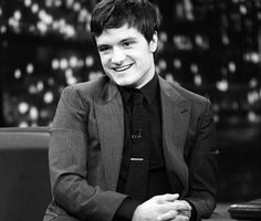 Josh Hutcherson visits 'Late Night With Jimmy Fallon' at Rockefeller Center on November 26, 2013 in New York City.