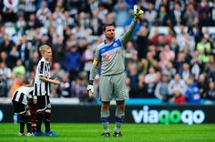 ~ Steve Harper played his last match for Newcastle United ~