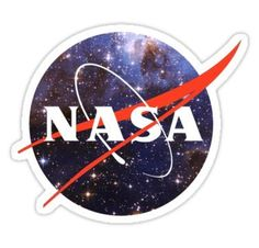 """nasa space"" Stickers by johnnybside Tumblr Stickers, Phone Stickers, Cool Stickers, How To Shade, Aesthetic Stickers, Overlays, Signs, Nasa Space, Brand Design"