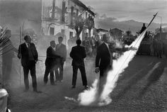 Josef Koudelka - Exiles - I really want to employ this sense of spotlight and theatre into my work. Here what captures your attention is very obvious (ray of light) and not only is the scene interesting but it is contains again a strong sense of ambiguity. I need to incorporate this into my work, it's really raising questions within me and I want my work to do the same to others.