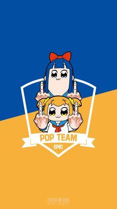 Pop Team Epic - Poputepipikku Anime Wallpaper - My Wallpaper I Wallpaper, Cartoon Wallpaper, Anime Dubbed, Funny Anime Pics, Aphmau Fan Art, Anime Galaxy, Anime Base, Clannad, Anime Nerd