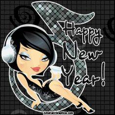 happy new year glitter graphics   Partners