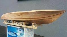 Modellisto-Blog: RIVA Ariston - Teil 5 - Hauptbeplankung Model Boat Plans, Diy Boat, Boat Design, Wooden Boats, Diy And Crafts, Blog, Purple, Inspiration, Power Boats