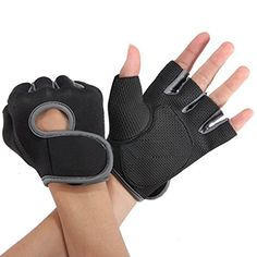 Womens Mens Weight Lifting Gloves Fitness Glove Gym Exercise Training Gloves Grey L ** To view further for this item, visit the image link.Note:It is affiliate link to Amazon.