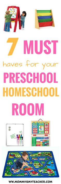 I love these preschool homeschool room ideas! They are great to do preschool activities at home in a small space. Pinning for later.