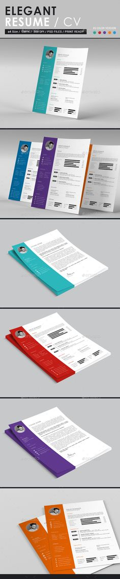 Resume Ai illustrator, Modern resume and Modern resume template - downloadable resume layouts