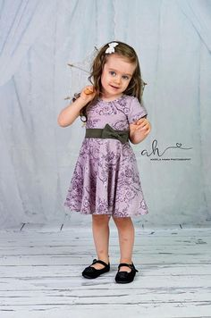 Maci girls dress patterns girls dress pdf PDF Sewing