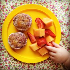 raspberry & almond scones - my lovely little lunch box Baby Food Recipes, Snack Recipes, Snacks, Scone Recipes, Baking Recipes, Toddler Meals, Kids Meals, Toddler Food, Family Meals