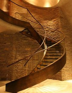 Staircase to my wine cellar.