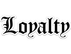 Trendy Old English lettering that spells out Loyalty Chicano Tattoos Lettering, Tattoo Lettering Design, Word Tattoos, Old English Tattoo, Blessed Tattoos, Loyalty Tattoo, Herren Hand Tattoos, Tattoo Fonts Alphabet, Old English Letters