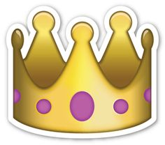 Crown | EmojiStickers.com