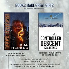 Remember readable gifts this Christmas season. These are great books but dont take my word for it. Read the 4 & 5-star verified-purchase reviews. http://ift.tt/2nAqbm9 #bookstagram #lovereading #booklove #giftideas #superpowers #thriller #wordsnap #instapin