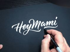 As much as we like to concentrate on digital art and design on UltraLinx, we can always take time to appreciate calligraphy and hand lettering as well,