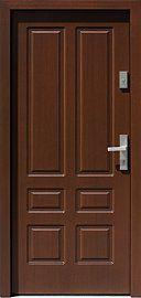 Exterior wooden doors model in dark walnut … – Door Types Single Door Design, Door And Window Design, Wooden Front Door Design, Bedroom Door Design, Door Gate Design, Wood Front Doors, Wooden Doors, Door Design Images, Decoration