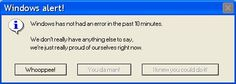 ♥♥♥ ERROR MESSAGES EVERYONE CAN UNDERSTAND