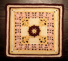 Crochet block, inspiration.