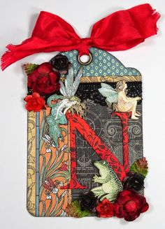 April 2015 G45 Artisan Style & Once Upon a Springtime - Tag for Nichola by Annette Green; Annette's Creative Journey