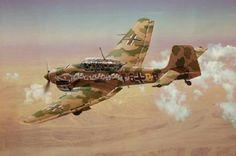 Junkers Ju87 Stuka en Africa