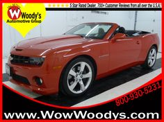2011 Chevrolet Camaro for sale at Woody's Automotive Group.