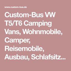 Custom-Bus VW T5/T6 Camping Vans, Wohnmobile, Camper, Reisemobile, Ausbau, Schlafsitzbank: Neuer Heckträger für Fahrräder und Reserverad