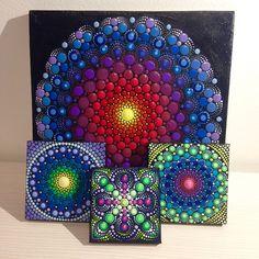 Colorful world of mandala painted rocks and by CreateAndCherish