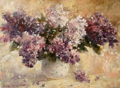 """Lilac"" oil on canvas, 30/40cm"