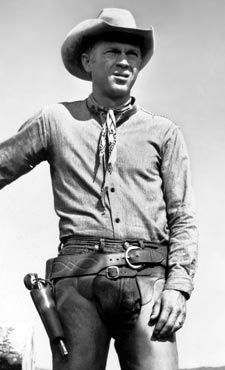 Steve McQueen...The Magnificent Seven. 'We deal in lead, friend'