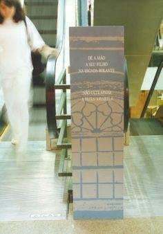 Wayfinding- Totem sign - Paço do Ouvidor - Centro (RJ) - Brazil # Brazilian design