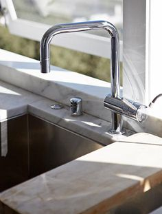 Grohe Dual Spray Kitchen Faucet: Remodelista